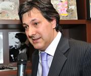 Il nuovo Presidente dell'Associazione dei Comuni del Moscato Luigi Icardi