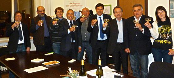 L'Assessore Regionale Ferrero e il Consiglio Direttivo dell'Associazione Comuni del Moscato
