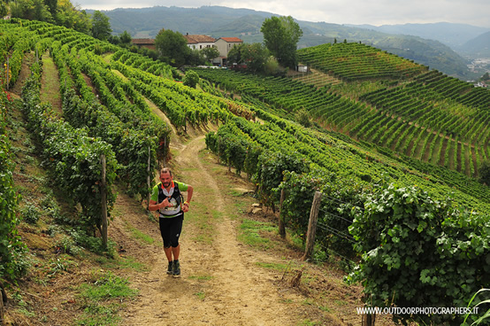 Trail tra le vigne del Moscato